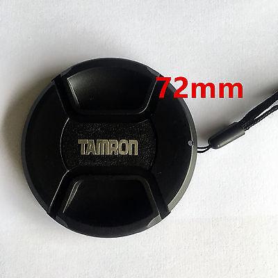 Bouchon cache de remplacement + Dragonne lens cap 72mm pour Objectif Tamron
