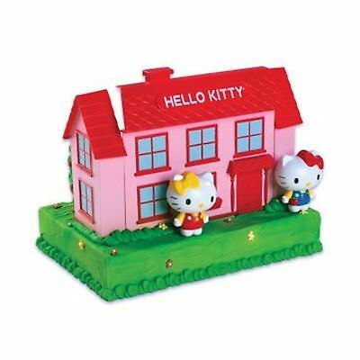 Hello Kitty Step Above House Cake Decorating Kit ICX-SA101 Bakery Crafts DS14256 - Hello Kitty Cake Kit