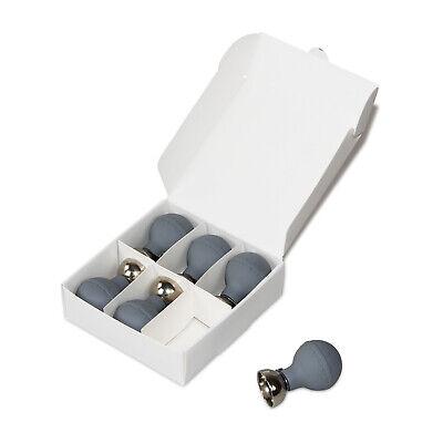 New Universal Adult Electrode Ecg Ekg Chest Suction4.0 Mm 6pcsdark Bluecontec