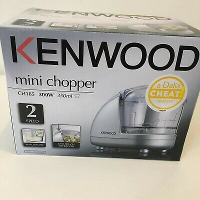 Kenwood CH185 Mini Chopper Silver - Brand New