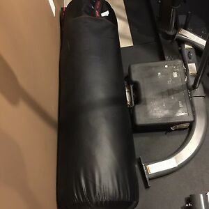 Century punching bag and stand