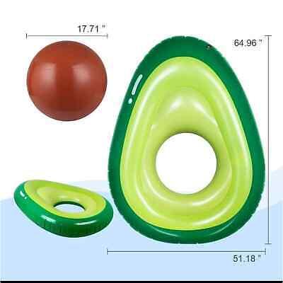 Inflatable Avocado Pool Float Floatie