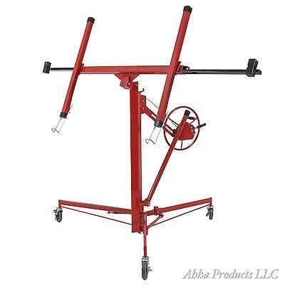 150lb Portable Construction Drywall Sheetrock Panel Lift Hoist Jack Holder Tool