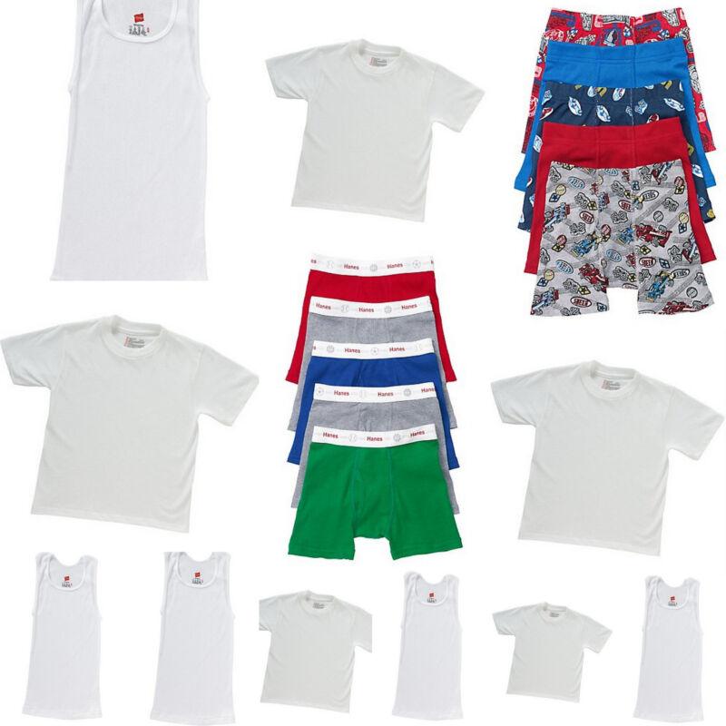20 PC Toddler Boys Boxer Brief Underwear A Shirts T Shirts Lot Bundle 2T 3T 4T
