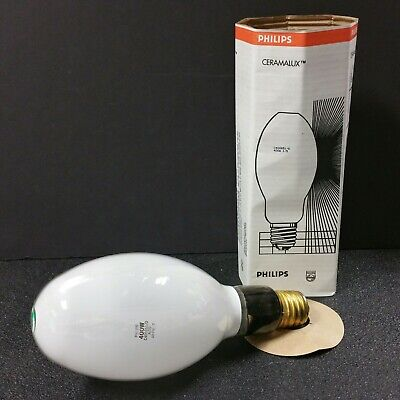 Philips Ceramalux C400s51d 400 Watt High Pressure Sodium Light Bulb Mogul Base