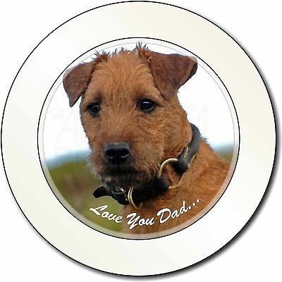 Lakeland Terrier 'Love You Dad' Car/Van Permit Holder/Tax Disc Gift, DAD-73T