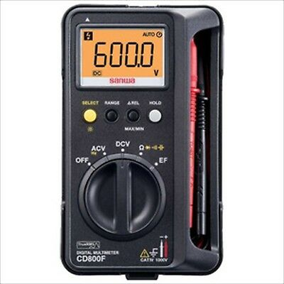 Sanwa Electric Instrument Cd 800 F Digital Multi Meter Case Integrated Fs Sal
