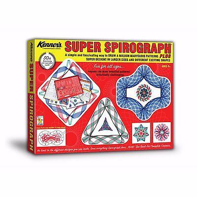 Original Retro Super Spirograph Jumbo Set 50th Commemorative Anniversary New