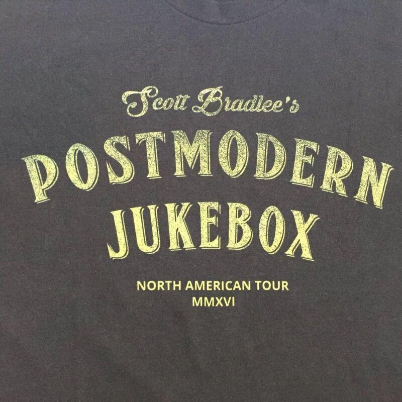 Postmodern Jukebox Scott Bradlee Tour M Black T-Shirt Standards PMJ jazz swing