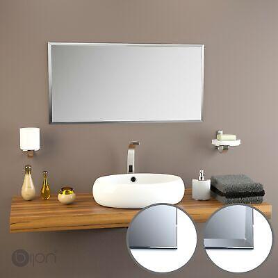 Badspiegel Wand Kristall Flur Bad Spiegel Badezimmer mit oder ohne Facette 5mm