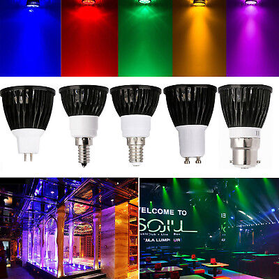 Black Mr16 Lamps - Dimmable LED Spotlight Bulbs GU10 MR16 E27 E14 B22 15W 12W 110V 220V Black Lamp