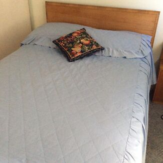 Double bed and duchess with mirror solid timber Camp Hill Brisbane South East Preview