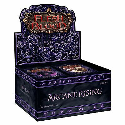FLESH AND BLOOD Arcane Rising Booster Box ALPHA First 1st Edition OOP