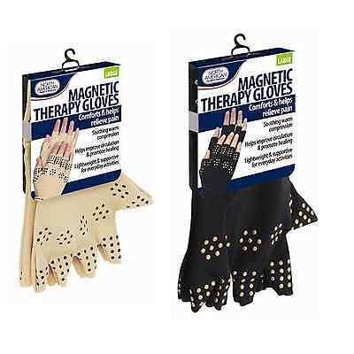 Magnetic Gloves Arthritis Therapy Support Pressure Pain Relief Heal Joints NEW Health & Beauty