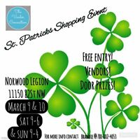 St Patrick's Shopping Event