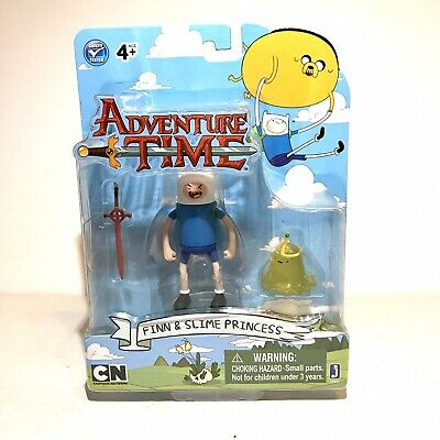 Adventure Time Finn & Slime Princess Action Figure Jazwares Cartoon Network NEW