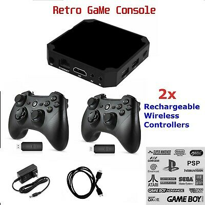 Retro Pandora Box type Video game Console Built in Classic Games Plug & Play Play Game System