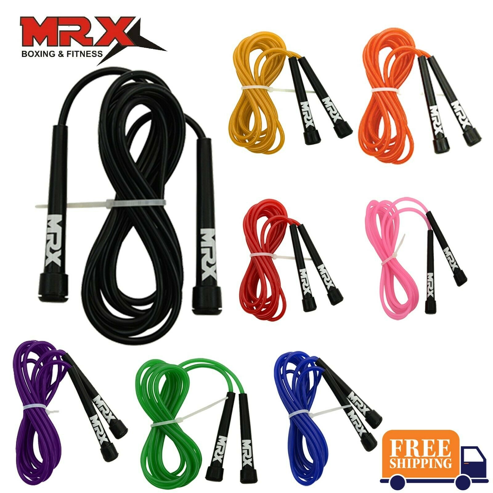 """Cayman Fitness speed rope  9/' 4/"""" Black. New"""