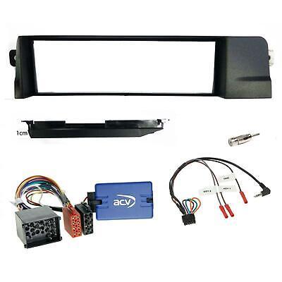 Radioblende Für BMW 5er E39 X5 E53 Adapter Kabel Set Quadlock ISO Autoradio