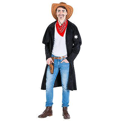 Herrenkostüm Cowboy Sheriff Western Wilder Westen Fasching Karneval Chap Cowgirl