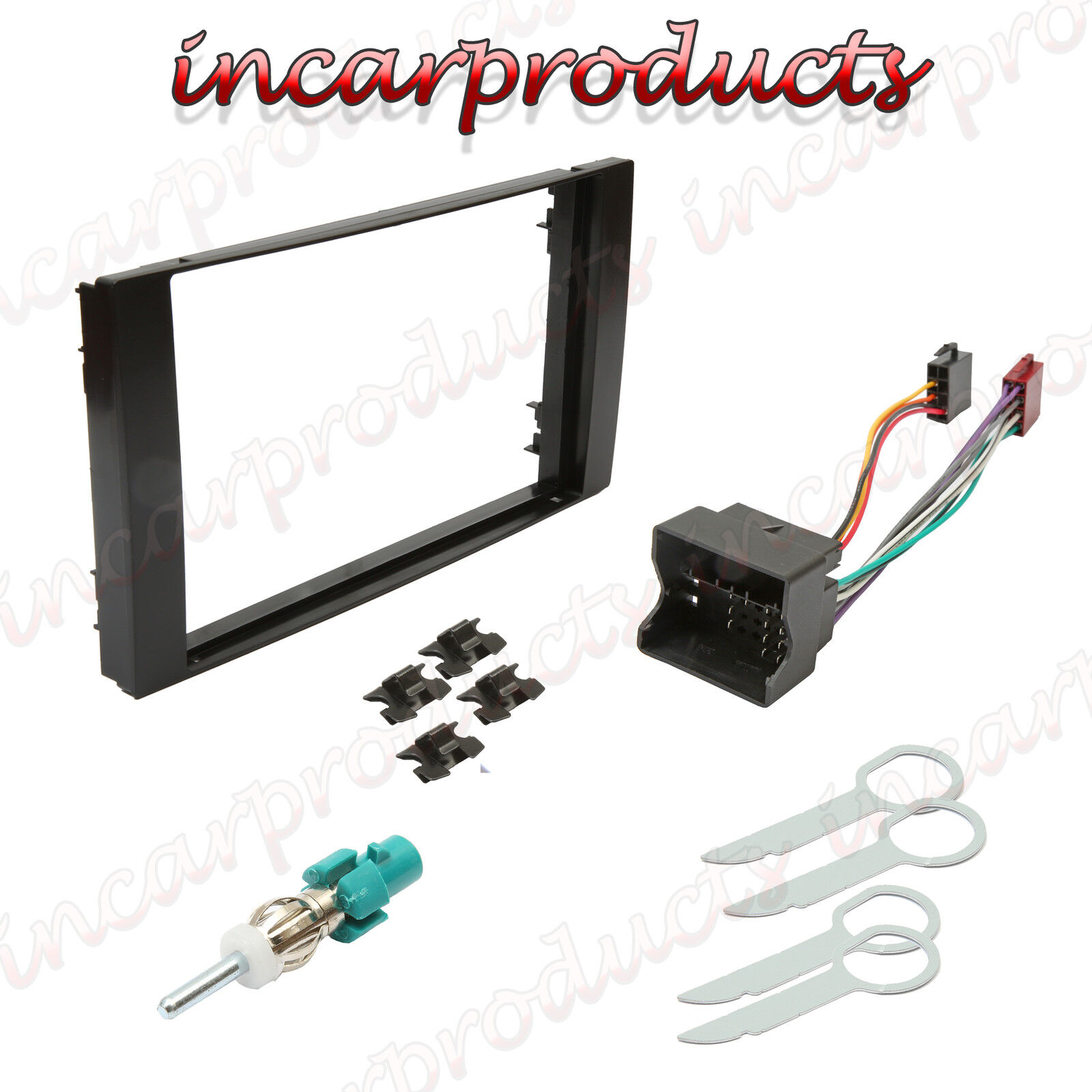 ford transit double din stereo fitting kit fascia wiring. Black Bedroom Furniture Sets. Home Design Ideas