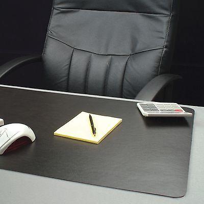 Lorell Bio-based Black Desk Pad - 30 Width X 20 Depth - Black Llr-39654