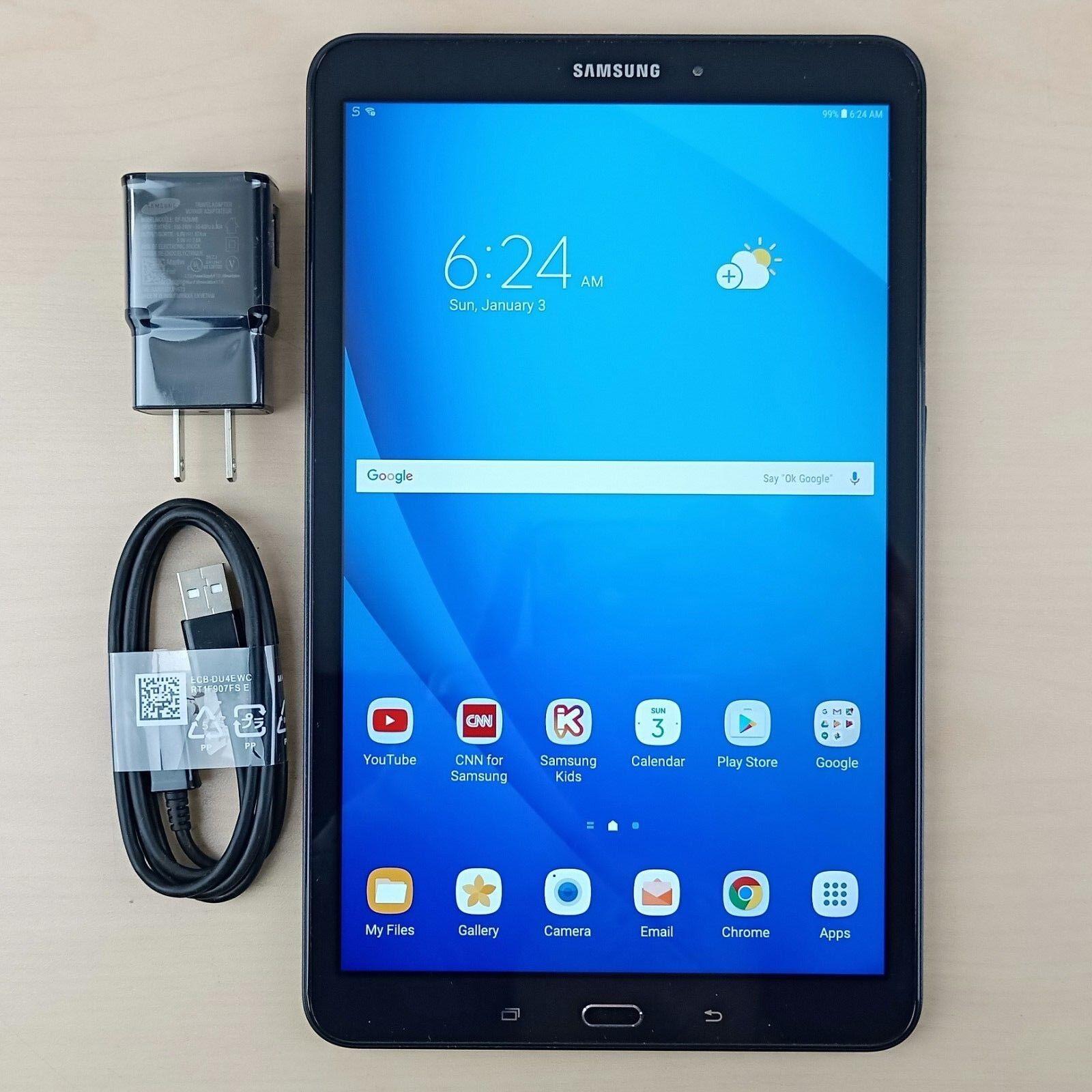 Samsung Galaxy Tab A 16GB WiFi 10.1-inch Tablet - Black