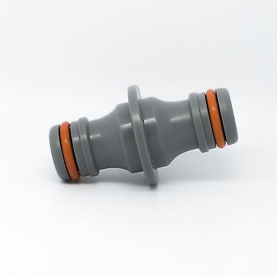 """Hozelock Compatible - 2-Way Connector 1/2"""" For Garden Hose Pipe Water - W-Line"""