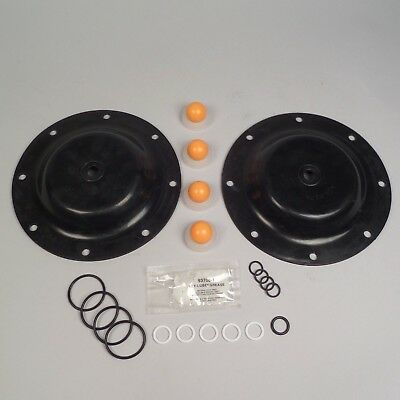 Diaphragm Pump Repair Kit Nitrile For Aro Model 666100-362-c Ref 637119-62-c