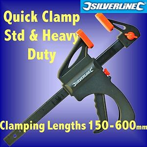 QUICK-CLAMPS-100-150-300-450-600mm-mini-model-woodwork-spreader-sash-one-hand