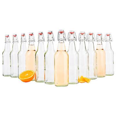 Bügelverschluss 500ml Flasche Likör Essig Öl Schnapsflaschen (Bügelflaschen)