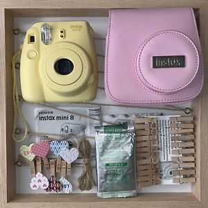 Fujifilm Instax mini 8 Polaroid camera w/ film and accessories