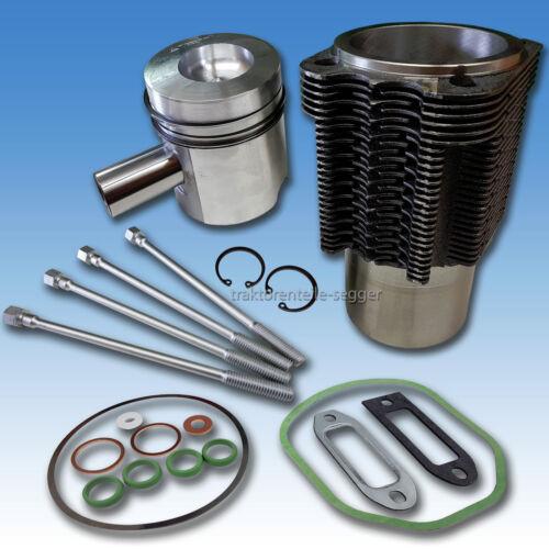 Kolben & Laufbuchse + Zylinderschrauben + Dichtsatz Deutz 8006 9006 10006 Foto 1