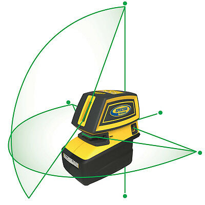 Spectra Precision Lt52g Green Point Line Laser Tool