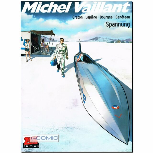 Michel Vaillant Staffel  2 Band 2 Spannung | Formel 1 LP Rennfahrer COMIC 60er
