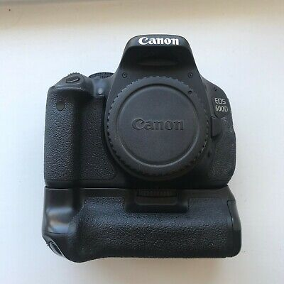 Canon 600D Body with Battery Grip