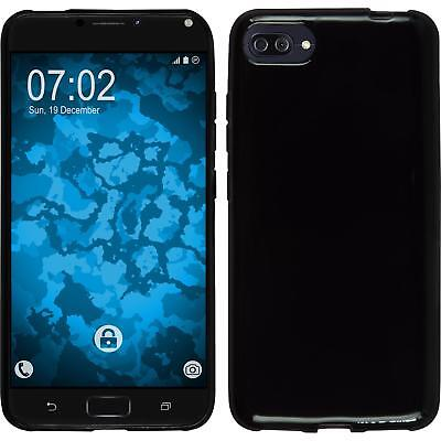 SILICONE CASE FOR ASUS ZENFONE 4 MAX ZC554KL BLACK CASE