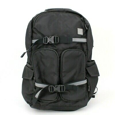 Lululemon Black Nylon Backpack Commuter Travel with Laptop Compartment