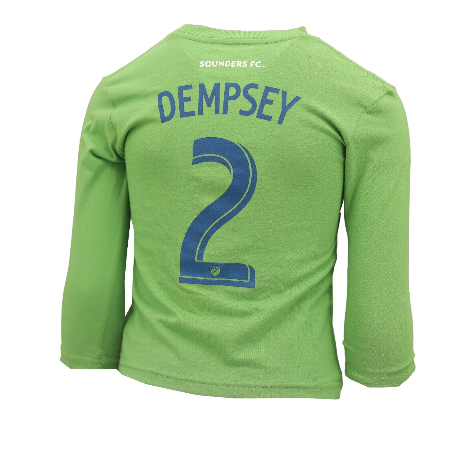 on sale bceb4 521c3 Seattle Sounders MLS Adidas Youth Kids Size Clint Dempsey Long Sleeve Shirt  New