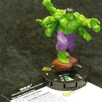 HULK  - 049 - SUPER RARE Heroclix Secret Wars Battleworld #49