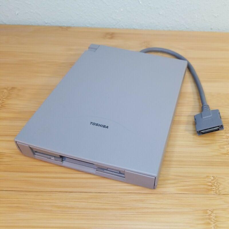 Vintage Toshiba FDD Attachment Case External 3.5 Floppy Drive