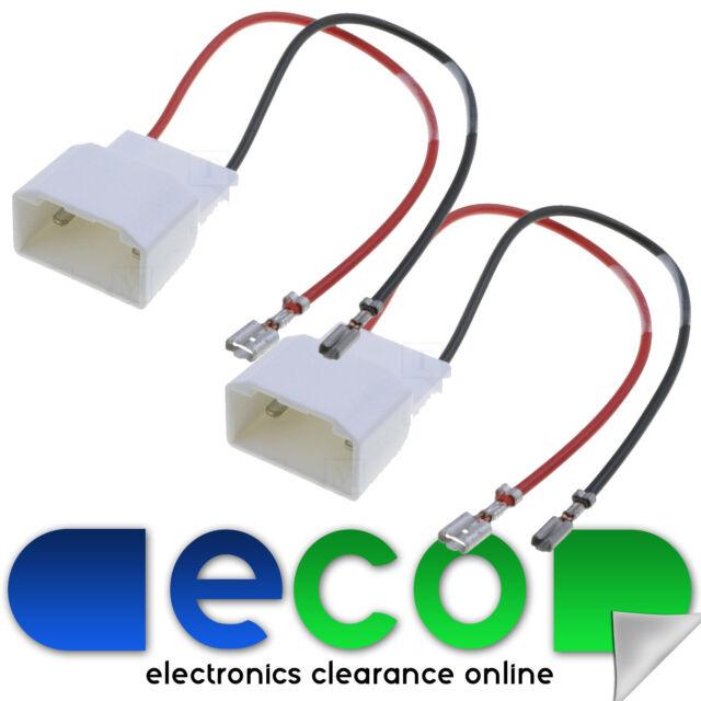 Ford Fiesta MK7 Car Door Speaker Wire Adaptor Plug Lead Connectors FD02