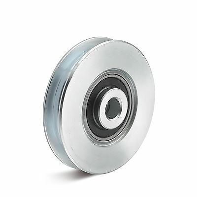 Seilrolle aus Stahl mit Kugellager Durchmesser 78mm Tragkraft 200kg