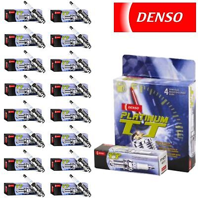 16 - Denso Platinum TT Spark Plugs 2003-2008 for Mercedes-Benz SL55 AMG 5.5L (Amg Denso Spark Plugs)