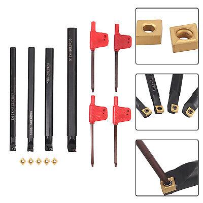 Lathe Boring Bar Turning Tool Holder T8 Wrenches S07ks08ks10ks12m-sclcr06 Cnc