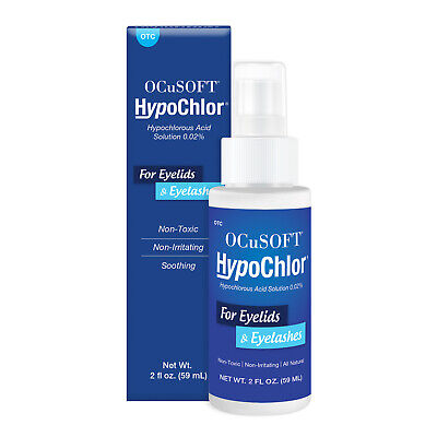 OCUSOFT HYPOCHLOR HYPOCHLOROUS ACID SOLUTION SPRAY 0.02% 59ML