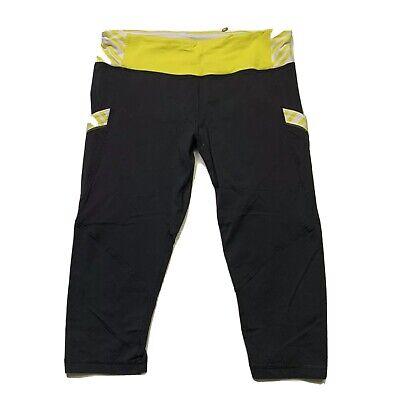 "Lululemon Run Pace Crop Leggings Luxtreme 5 pockets 17"" inseam Size: 6"