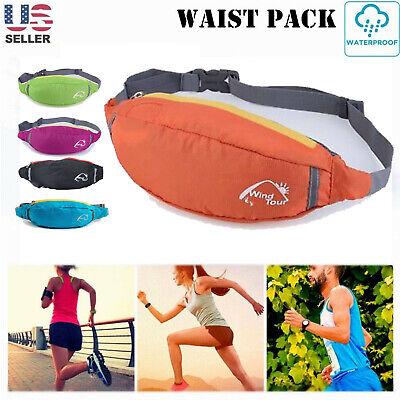 Purple Scorpion Angel Sport Waist Bag Fanny Pack Adjustable For Run