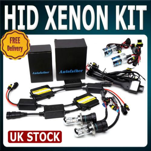 H8 H9 H11 No Flicker NO Error Show On Dash HID Xenon Headlight Conversion Kit UK
