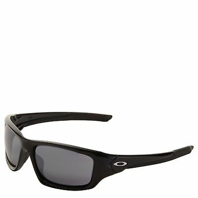 [OO9236-01] Mens Oakley Valve Sunglasses - Polished Black / Black Iridium
